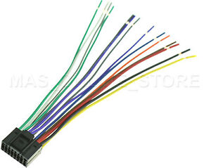 s l300 wire harness for jvc kd hdr60 kdhdr60 *pay today ships today* ebay jvc kd-hdr60 wiring diagram at n-0.co
