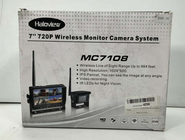 Haloview MC7108 Wireless Monitor Camera System, 7