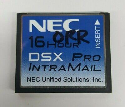 4 Port 8 Hour Voice Mail Warranty NEC DSX 40 80 160 IntraMail 1091011 V2.1 G