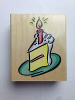 Birthday Cake Patisserie Rubber Stamp By Stampendous V024 Crafts