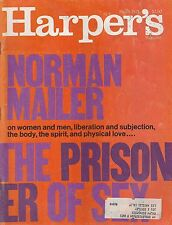 MARCH 1971 HARPERS magazine THE PRISONER OF SEX