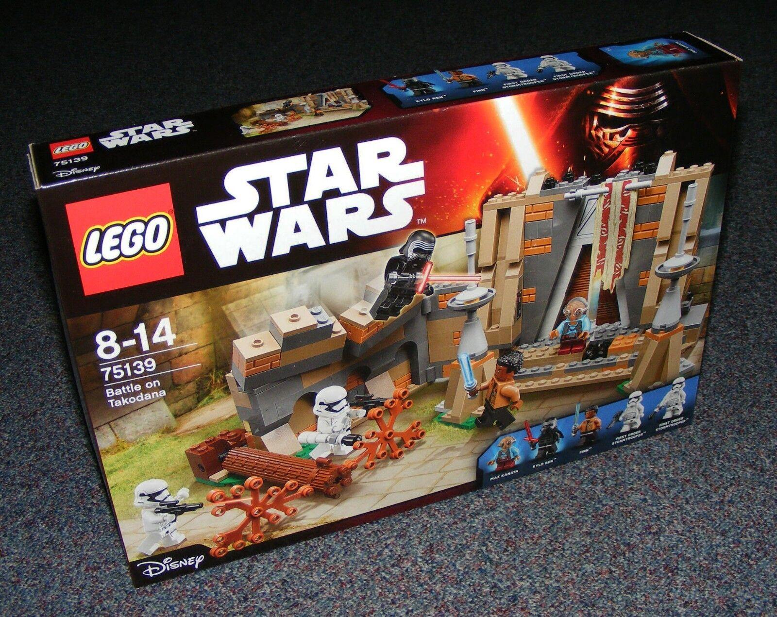 STAR WARS LEGO 75139 BATTLE ON TAKODANA BRAND NEW SEALED BNIB
