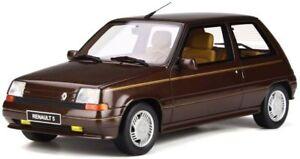 Otto Mobile 764 Voiture de modèle Renault Super 5 en résine baccara Brun Arabica 1984 1:18