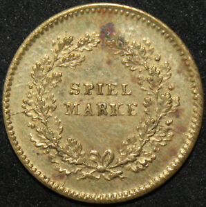 German-Empire-Spiel-Marke-039-Token-Play-Money-039-Coin-Coins-KM-Coins