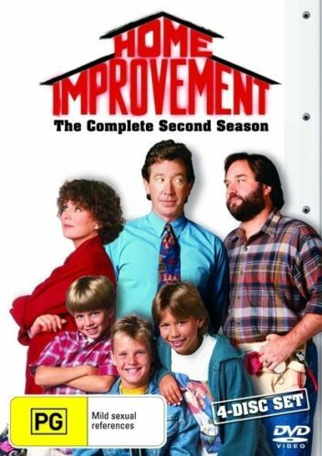 1 of 1 - Home Improvement: Season 2 (DVD, 4-Disc Set) - Region 4 - Good Condition