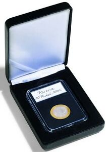 1-Certified-Coin-Slab-Graded-PCGS-NGC-ANACS-EVERSLAB-QUICKSLAB-Leatherette-Box