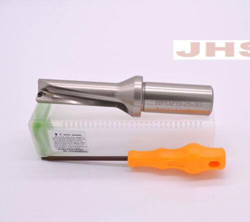 Φ21 WPD210 C25-3D U drill indexable drill 21mm-3D Internal cold drill FOR WCMX04