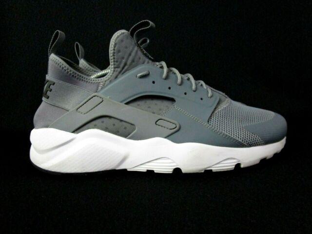 Nike Air Huarache Run Ultra Mens Smoke Gray Running Shoes Size 12  (819685-011)