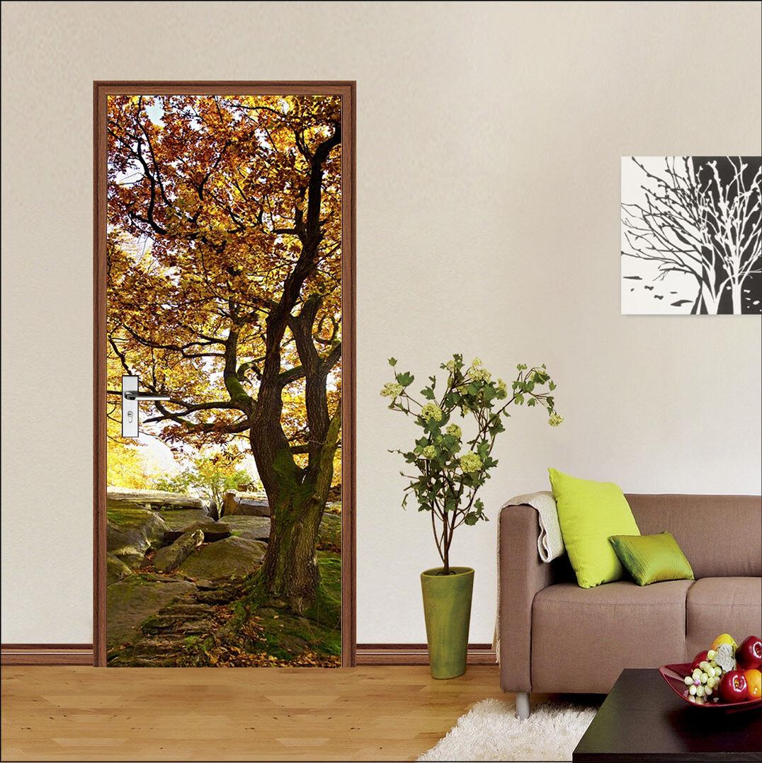 3D Baum 760 Tür Wandmalerei Wandaufkleber Aufkleber AJ WALLPAPER DE Kyra