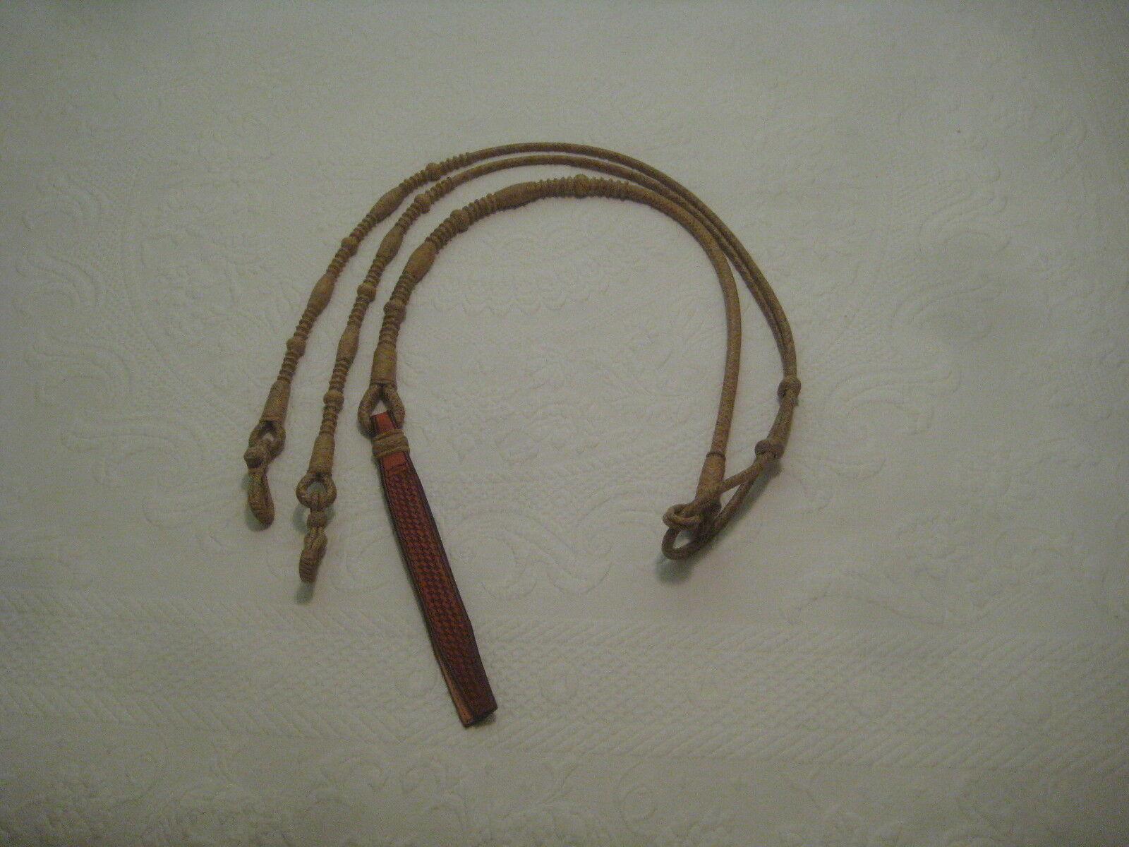 rossoini romalCALIFORNIA Style    12 PLT. Regular 48 con connettori Rein rawhide fb1