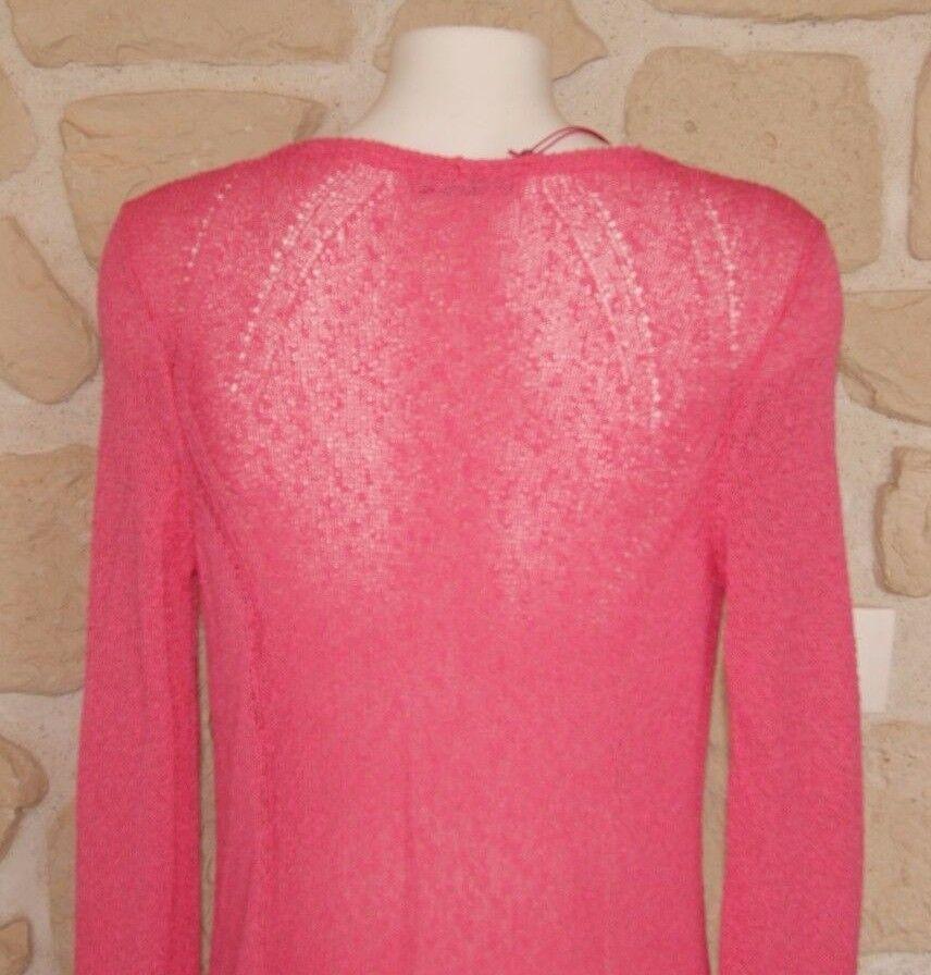 Gilet Gilet Gilet rosa neuf Dimensione 38 marque Aldo Martins étiqueté à  (v) 6d4f96