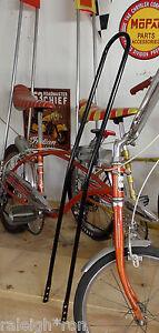 BACK-N-039-BLACK-42-034-Tall-Banana-Seat-Muscle-Bike-Rat-Rod-Bicycle-SISSY-BAR