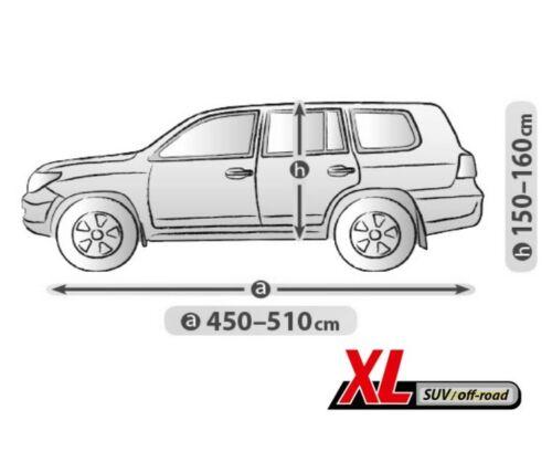 AUDI Q7 II ab 2015 AUTOABDECKPLANE VOLLGARAGE GANZGARAGE PLANE XL SUV