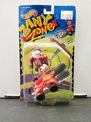 Toys & Hobbies Diecast & Toy Vehicles 1991 New Hot Wheels Zany Zone Woody Hackit Chainsaw Unopened
