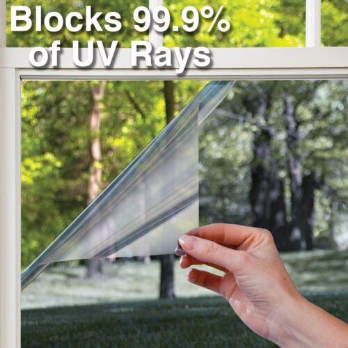 17.9 inch x 5ft Heat Control Vinyl UV Blocking Window Decal