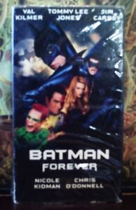 VHS-Movie-Tim-Burton-Batman-Forever-Warner-Bros-1995