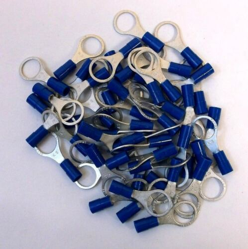 """50 Ancor Brand Marine HD 3//8/"""" Ring End Terminals for 16-14 ga wire"""