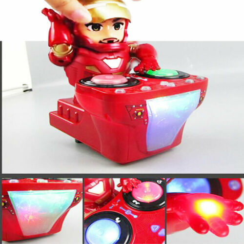Toys for Boys Dancing Robot Super DJ Hero Light Music Electric Cool Xmas Toys UK