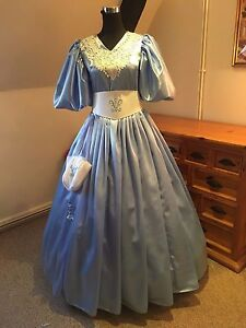 3bd2cd5c02 Image is loading Edwardian-Victorian-19th-Century-Ball-Gown-Custom-made-
