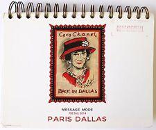 COCO CHANEL Message Mode Look Book Pre Fall 2014 PARIS DALLAS
