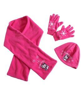 Set GrÖsse 53 Mädchen-accessoires Hello Kitty 3 Tlg