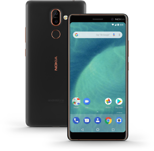 Neu-in-Versieg-Box-Nokia-7-Plus-6-0-034-GLOBAL-Smartphone-Black-Copper-64GB
