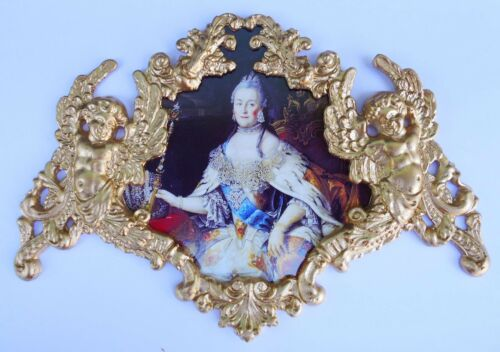 Russian Queen Catherine the Great-2 Furniture mounts//decor