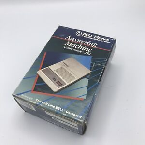 Bell-Phones-Answering-Machine-Answermate-250-Microcassette-Included-NOS-62250