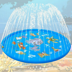 Splash Pad Sprinkler for Dogs Kids Wading Pool Children Inflatable Water Toys