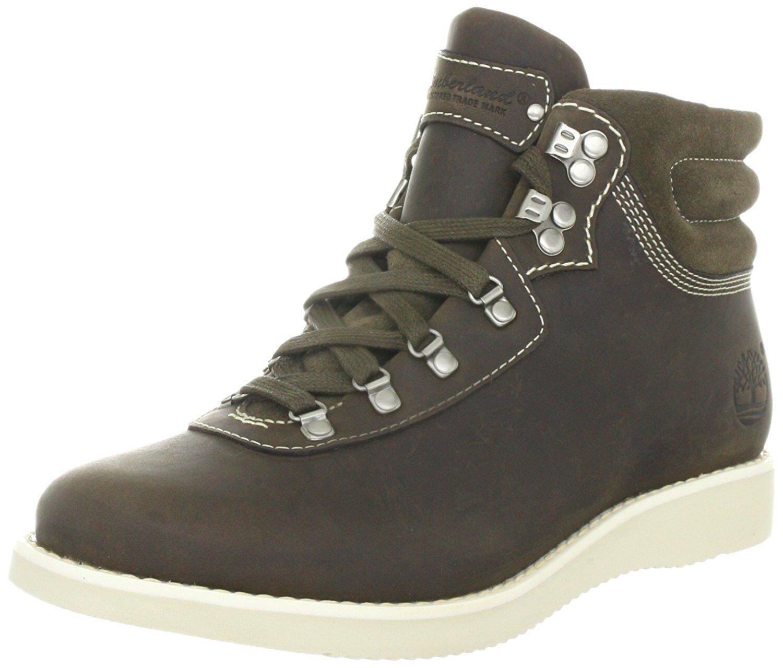 Timberland damenBrattle Hiker 3354R Fashion Stiefel Halbstiefel Dark Olive Leder  | Fierce Kaufen  | Heißer Verkauf  | Elegante und robuste Verpackung