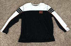 Harley-Davidson-Genuine-Motor-Clothes-Mens-Long-Sleeve-2XL-Shirt-Milwaukee-WI
