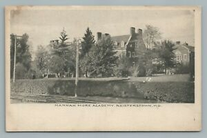 Hannah-More-Academy-REISTERSTOWN-Maryland-Baltimore-County-Antique-1910s