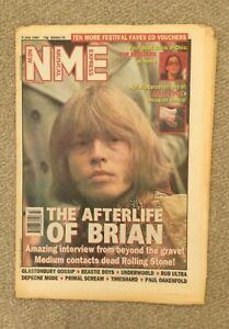 NME Magazine - 9 July 1994 Glastonbury, Beastie Boys, Underworld, Primal Scream