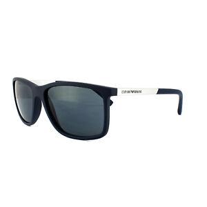 2d003767a2d90 Image is loading Emporio-Armani-Sunglasses-4058-5474-87-Blue-Rubber-
