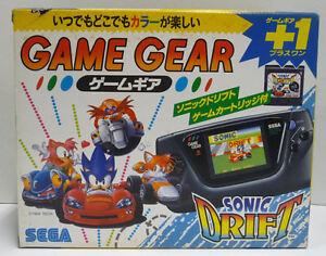 CONSOLE-SEGA-GAME-GEAR-SONIC-DRIFT-SPECIAL-EDITION-RARE-NTSC-JAPAN-BOXED