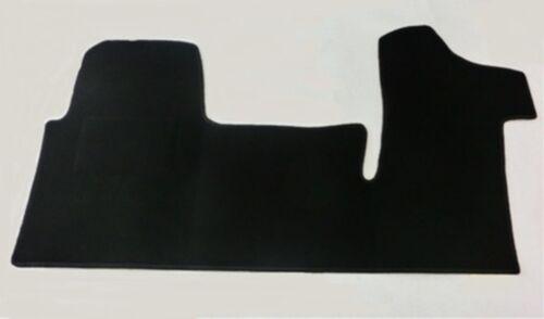 Autoteppich Fußmatte Fahrerhaus für Opel Movano B  3-Sitzer  Baujahr ab 2010