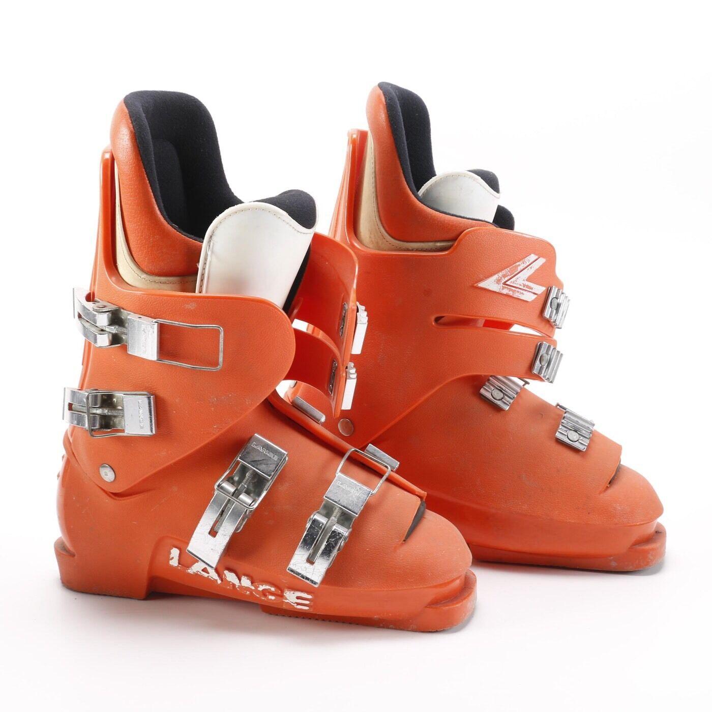Lance Ski  Boots Used Unisex orange  authentic
