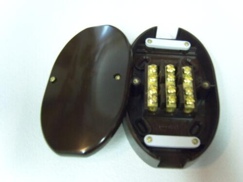 BROWN mpn8470 Quantity 1 60AMP 3 TERMINAL  JUNCTION BOX