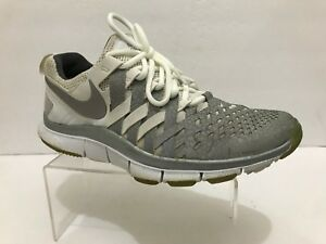 competitive price ea0f8 0294e Image is loading Nike-Free-Trainer-5-0-NRG-White-Silver-