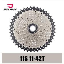 BOLANY Premium MTB 9Speed Cassette 11-42T Mountain Bike Steel Flywheel Cogs 480g