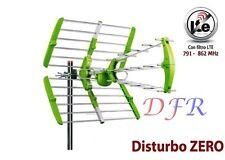 ANTENNA TERRESTRE ESTERNA 36 DBi 4G LTE DVB-T UHF DIGITALE TERRESTRE FM RADIO