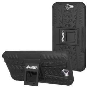 AMZER-DUAL-LAYER-HYBRID-WARRIOR-KICKSTAND-CASE-COVER-FOR-HTC-ONE-A9