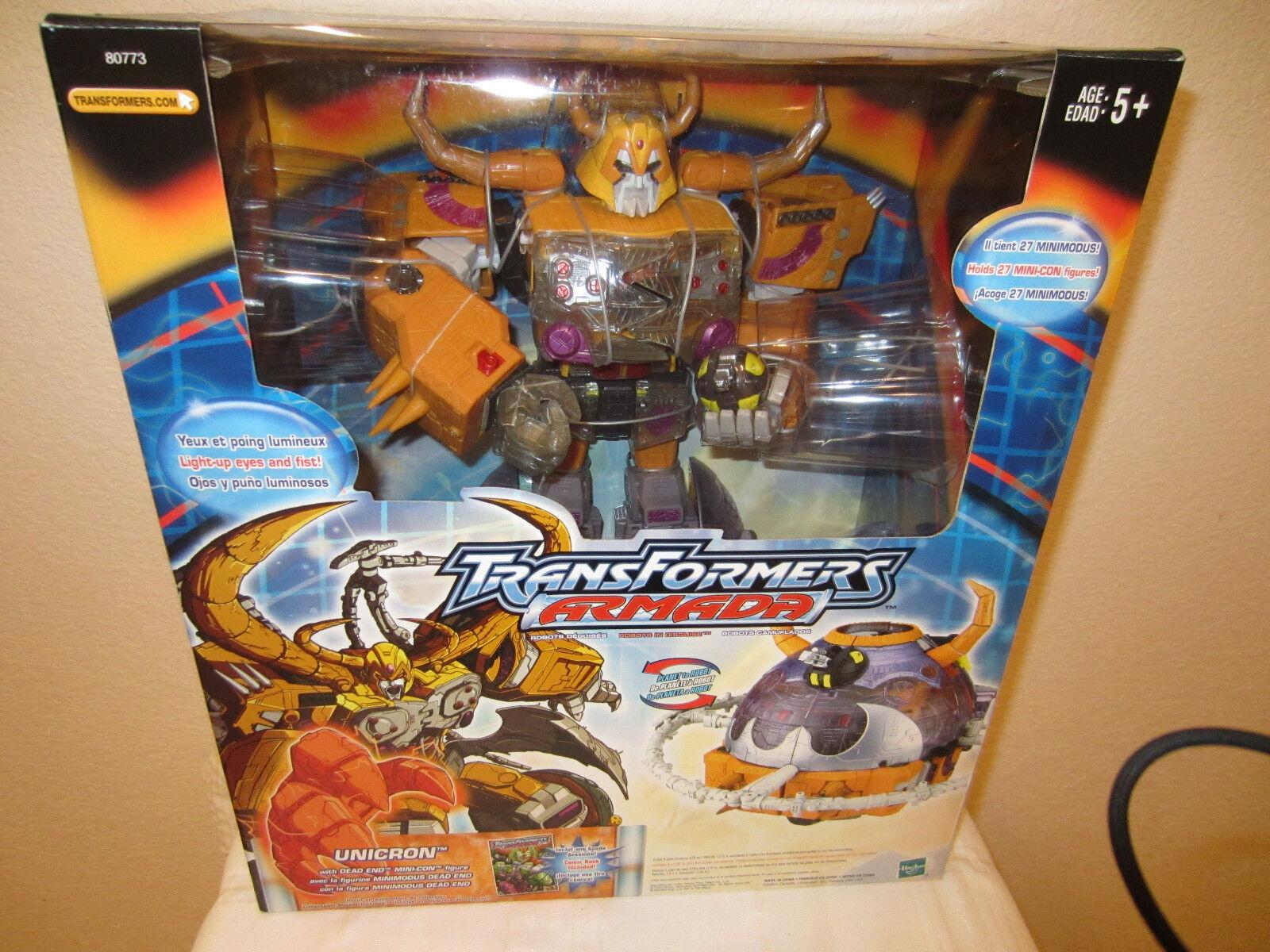 venta al por mayor barato Transformers 2003 Armada 15in Figura de Acción Unicron Unicron Unicron + callejón sin salida mini-con, Comic B Nuevo  entrega de rayos