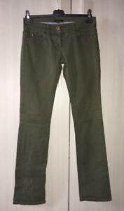 Pantaloni-Da-Donna-Sisley-Taglia-40-Verde