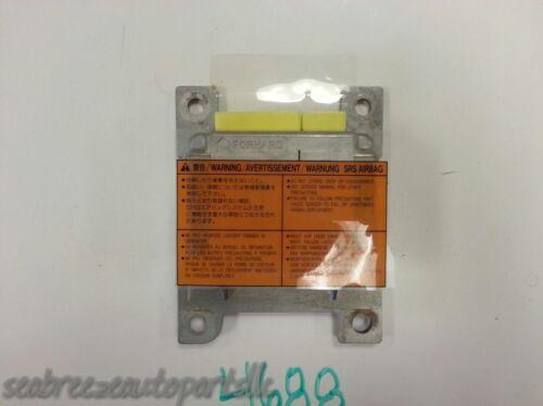 98 1998 I30 MAXIMA AIR BAG AIRBAG CONTROL MODULE UNIT SRS RELAY DIAGNOSTIC 4688