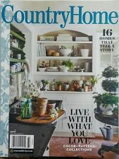 Country Home 2017 Live With What You Love Colors & Patterns FREE SHIPPING sb