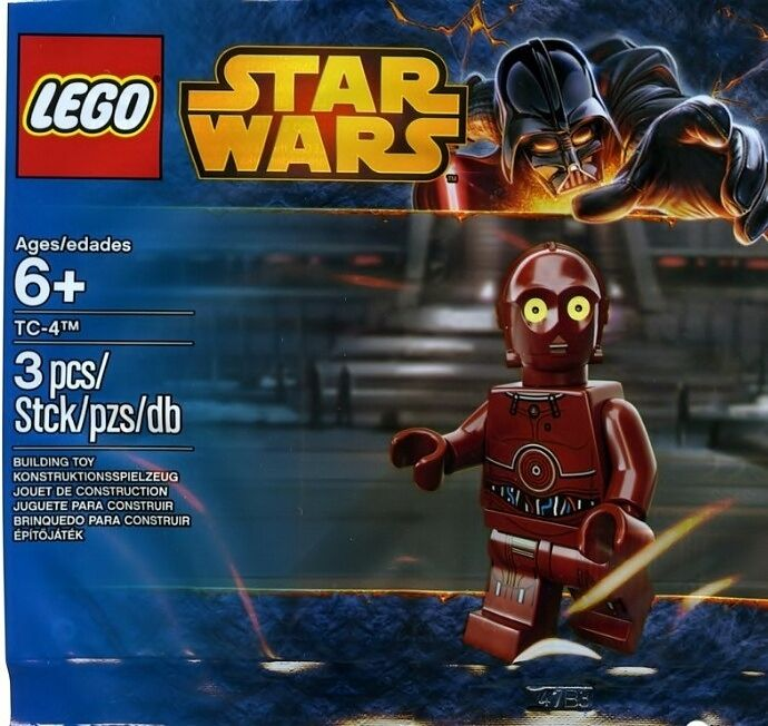 LEGO Star Wars - Super Rare TC-4 5002122 - New & Sealed