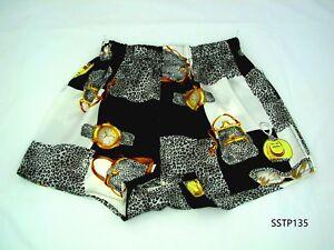 Silk-Boxer-Shorts-Men-Underwear-Underpants-Soft-Brief-Trunk-Black-White-M-L-XL