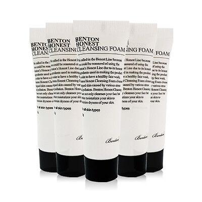 [BENTON] Honest Cleansing Foam Samples - 5pcs (Tube Type)