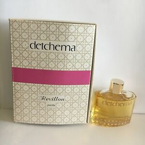 Rare-Miniature-Parfum-Ancienne-REVILLON-DETCHEMA